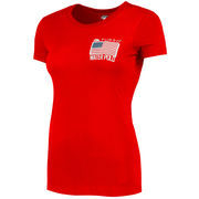 Team USA Women's Water Polo TURBO T-Shirt - Red