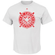 St. Louis Perfectos Majestic Historical Team T-Shirt - White