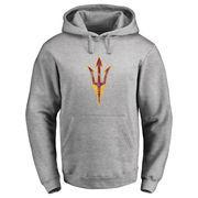 Arizona State Sun Devils Classic Primary Logo Pullover Hoodie - Ash