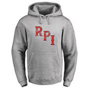 Rensselaer Polytechnic Institute Engineers Classic Primary Logo Pullover Hoodie - Ash