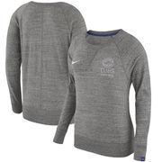 Chicago Cubs Nike Women's Vintage Sweatshirt - Heathered Gray