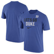 Duke Blue Devils Nike Ignite Verbiage Legend T-Shirt - Royal