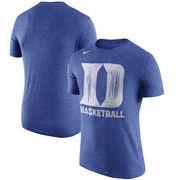 Duke Blue Devils Nike Basketball Tri-Blend T-Shirt - Royal
