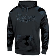 Los Angeles Dodgers Majestic Big & Tall Pullover Hoodie - Camo/Black