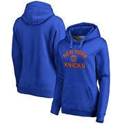 New York Knicks Women's Overtime Pullover Hoodie - Royal