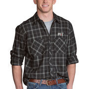 MIT Engineers Brewer Flannel Long Sleeve Shirt - Charcoal