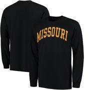 Missouri Tigers Basic Arch Long Sleeve T-Shirt - Black