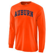 Auburn Tigers Basic Arch Long Sleeve T-Shirt - Orange
