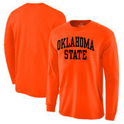 Oklahoma State Cowboys Basic Arch Long Sleeve T-Shirt - Orange