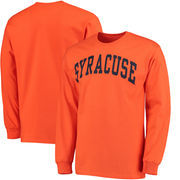 Syracuse Orange Basic Arch Long Sleeve T-Shirt - Orange