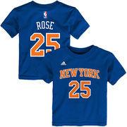 Derrick Rose New York Knicks adidas Toddler Name & Number T-Shirt - Royal