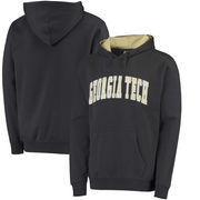 Georgia Tech Yellow Jackets Colosseum Arch Pullover Hoodie - Charcoal