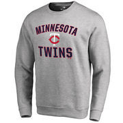 Minnesota Twins Victory Arch Pullover Sweatshirt - Ash