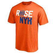 Derrick Rose New York Knicks By-Line T-Shirt - Orange