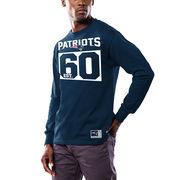 New England Patriots Majestic Favorable Result Long Sleeve T-Shirt - Navy