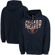 Chicago Bears G-III Sports by Carl Banks Post Season Full-Zip Hoodie - Navy