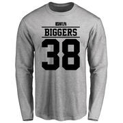 E.J. Biggers Player Issued Long Sleeve T-Shirt - Ash