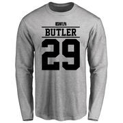 Mario Butler Player Issued Long Sleeve T-Shirt - Ash