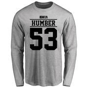 Ramon Humber Player Issued Long Sleeve T-Shirt - Ash