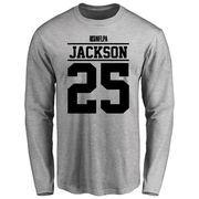Kareem Jackson Player Issued Long Sleeve T-Shirt - Ash