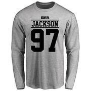 Malik Jackson Player Issued Long Sleeve T-Shirt - Ash
