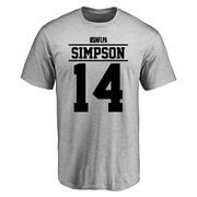Jerome Simpson Player Issued T-Shirt - Ash