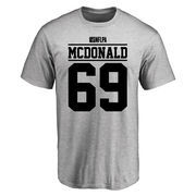 Andrew McDonald Player Issued T-Shirt - Ash