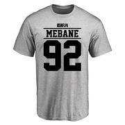 Brandon Mebane Player Issued T-Shirt - Ash