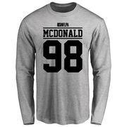 Clinton McDonald Player Issued Long Sleeve T-Shirt - Ash