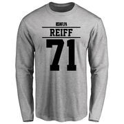 Riley Reiff Player Issued Long Sleeve T-Shirt - Ash