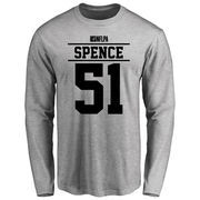Sean Spence Player Issued Long Sleeve T-Shirt - Ash