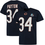 Walter Payton Chicago Bears Majestic Big & Tall Hall of Fame Eligible Receiver III Name & Number T-Shirt - Navy