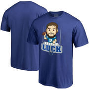 Andrew Luck Indianapolis Colts NFL Pro Line Player Emoji T-Shirt - Royal