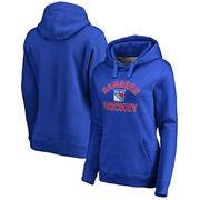 New York Rangers Women's Overtime Pullover Hoodie - Blue