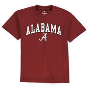 Alabama Crimson Tide Youth Campus T-Shirt - Crimson