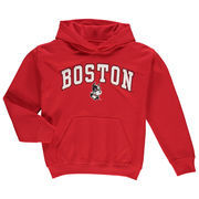 Boston University Fanatics Branded Youth Campus Pullover Hoodie - Red