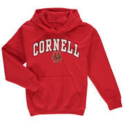 Cornell Big Red Fanatics Branded Youth Campus Pullover Hoodie - Red