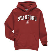Stanford Cardinal Fanatics Branded Youth Campus Pullover Hoodie - Cardinal