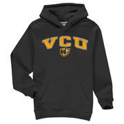 VCU Rams Fanatics Branded Youth Campus Pullover Hoodie - Black