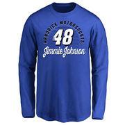 Jimmie Johnson Youth Race Day Long Sleeve T-Shirt - Royal -