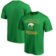Norfolk State Spartans Fanatics Branded Campus Icon T-Shirt - Green