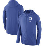 Duke Blue Devils Nike 2016-2017 Basketball Player Hyper Elite Performance Full-Zip Hoodie - Royal