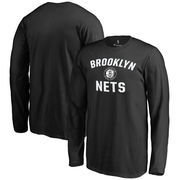 Brooklyn Nets Youth Victory Arch Long Sleeve T-Shirt - Black