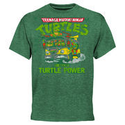 Chicagoland Speedway Teenage Mutant Ninja Turtles 400 Retro Tri-Blend T-Shirt - Green