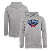 New Orleans Pelicans Fanatics Branded Youth Primary Logo Pullover Hoodie - Heathered Gray