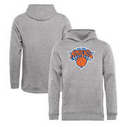 New York Knicks Fanatics Branded Youth Primary Logo Pullover Hoodie - Heathered Gray