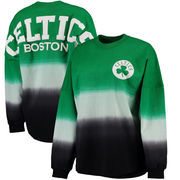 Boston Celtics Fanatics Branded Women's Spirit Jersey Classic Long Sleeve T-Shirt - Kelly Green/Black