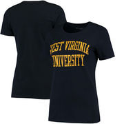West Virginia Mountaineers Champion Women's University T-Shirt - Navy