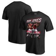Atlanta Falcons NFL Pro Line Matt Ryan & Julio Jones Record Day T-Shirt - Black
