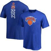 Derrick Rose New York Knicks Youth Backer 3 Name & Number T-Shirt - Blue